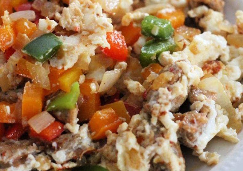 Omelette Meal Prep Jars