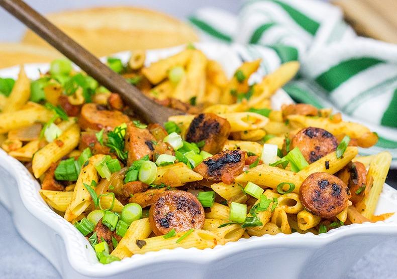 Cajun Chicken Sausage Pastalaya