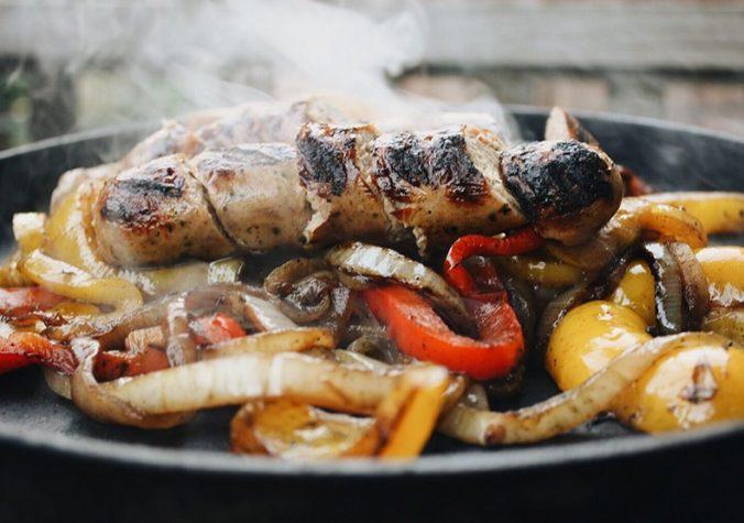 Jalapeño Chicken Sausage Fajitas