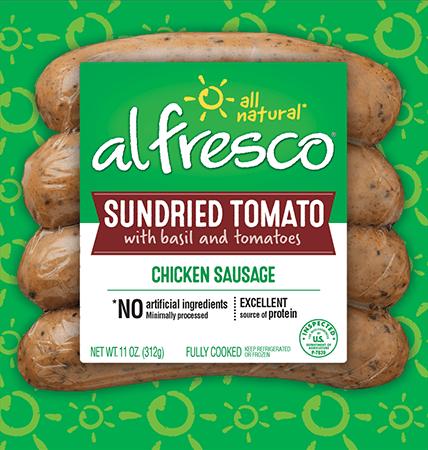 Sundried Tomato Chicken Sausage
