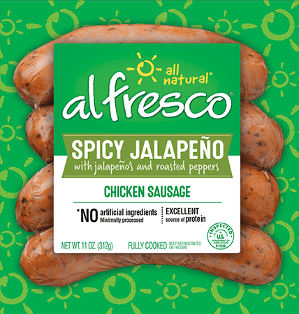 Spicy Jalapeño Chicken Sausage