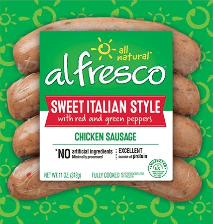 Sweet Italian Style Chicken Sausage