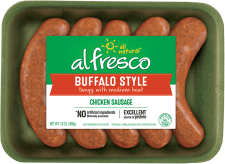 Buffalo Style Chicken Sausage Fresh