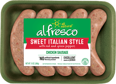 Sweet Italian Style Chicken Sausage Fresh