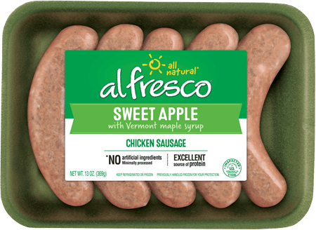 Sweet Apple Chicken Sausage Fresh