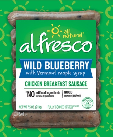 Wild Blueberry Chicken Breakfast Sausage