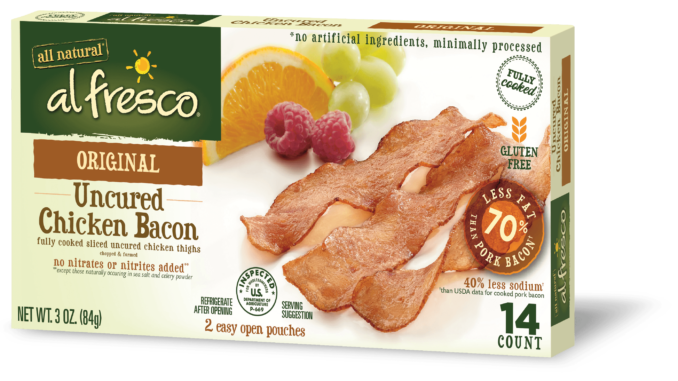 Fully Cooked Chicken Bacon