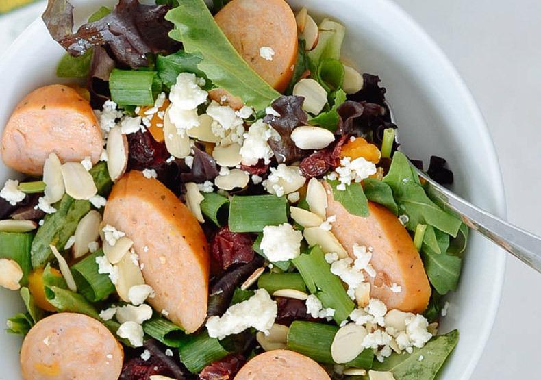 Fall Harvest Chicken Sausage Salad