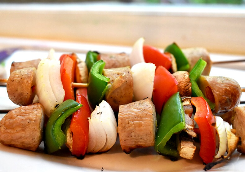 Chicken Sausage Summer Kabob Recipe
