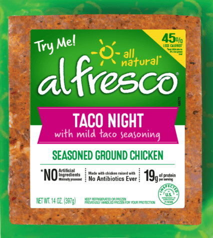 Taco Night Seasoned Ground Chicken