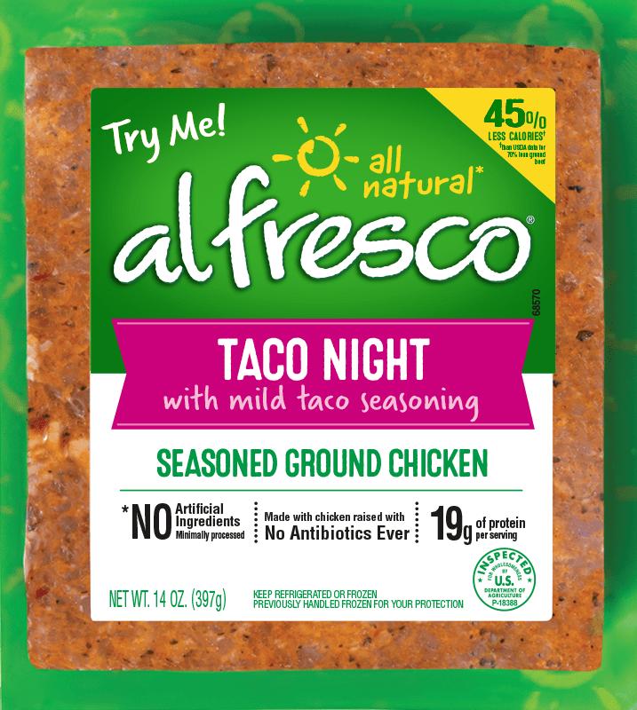 Taco Night Seasoned Ground Chicken