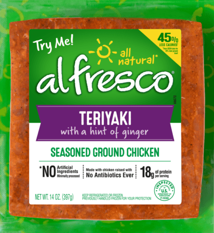 Teriyaki Seasoned Ground Chicken