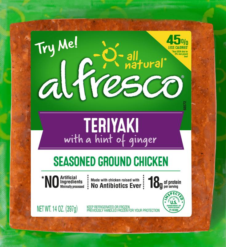 Teriyaki Seasoned Ground Chicken