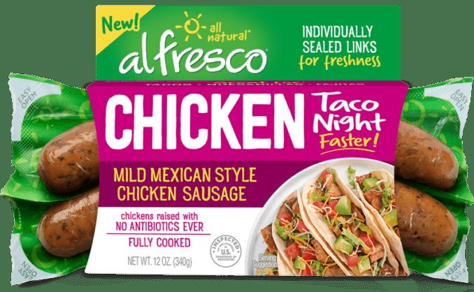 Mild Mexican Style Chicken Sausage