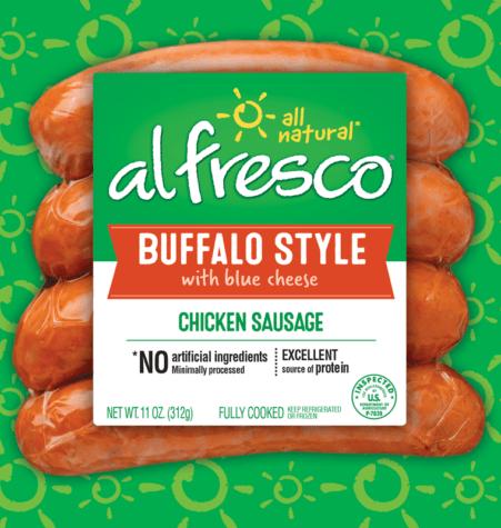 Buffalo Style Chicken Sausage