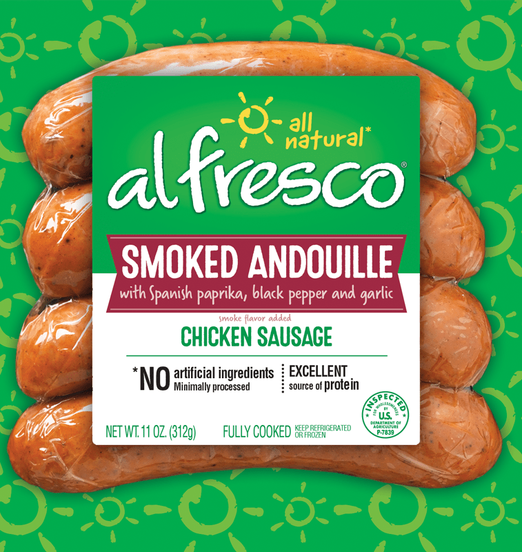 Smoked Andouille Chicken Sausage