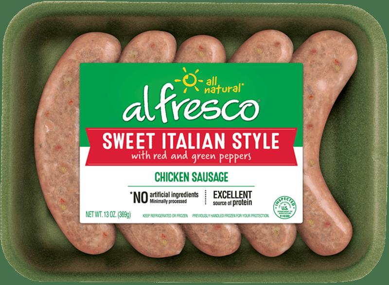 Sweet Italian Style Chicken Sausage Fresh