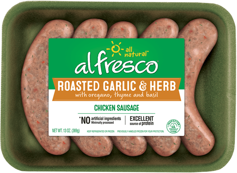 Roasted Garlic & Herb Chicken Sausage Fresh