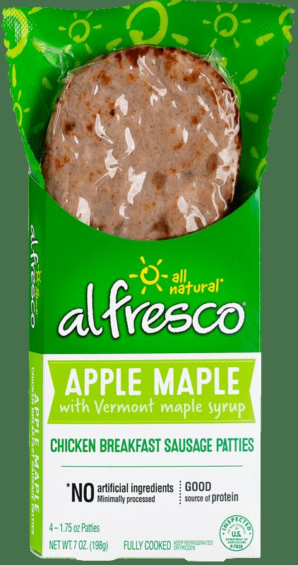 Apple Maple Chicken Breakfast Patty