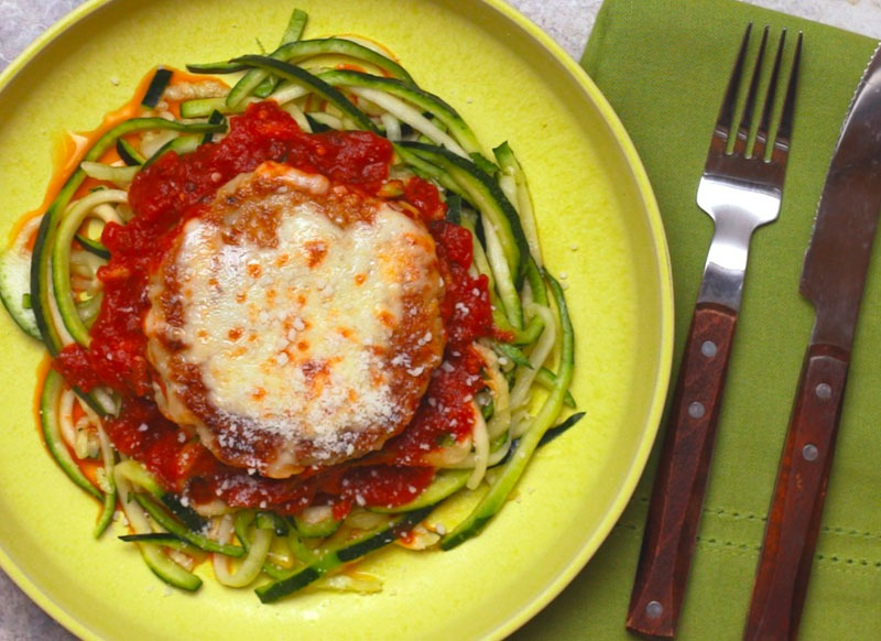 Chicken Parm Zoodles