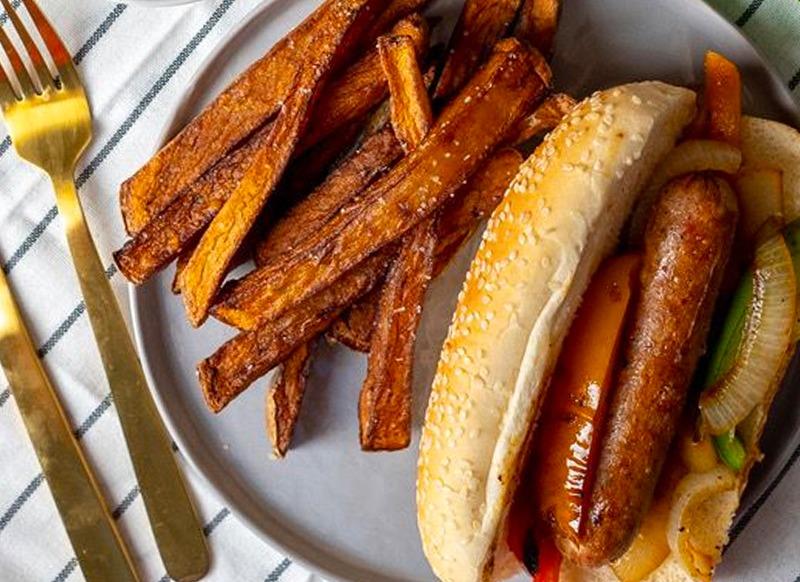 Easy State Fair (Chicken) Sausage Sandwiches