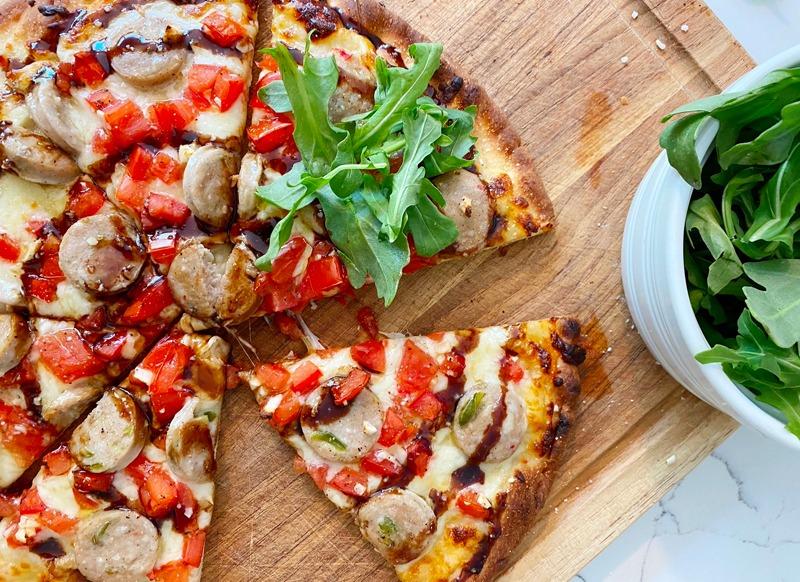Summer Sweet Italian Pizza