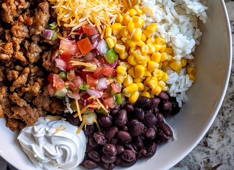 Gluten Free Taco Bowl